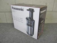 未使用 Panasonic 低速ジューサー ビタミンサーバー MJ-L500-S