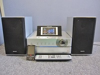 出張買取 ソニー HDDコンポ NAS-M75HD