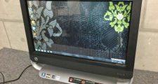 HP TouchSmart 320 PC Win7 AMD A4-3420 4GB 1TB