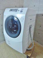 シャープ 9.0kg ドラム式洗濯乾燥機 ES-V230-WL 12年製