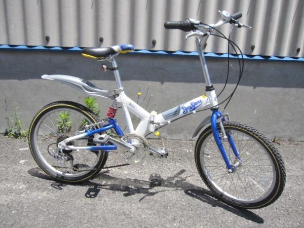 八王子市にて折りたたみ自転車 横浜ベイスターズ仕様 を買取いたしました。