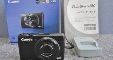 Canon キャノン PowerShot S120 デジカメ ブラック
