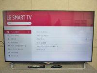 八王子市にてLG製液晶テレビ【55UB8500】14年製を買取りました。