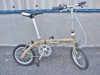 大和市でルノー製折りたたみ自転車[AL-FDB140]を買取ました。