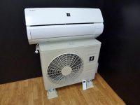 立川市にてシャープ製エアコン[AY-E22DG]15年製を買取りました。
