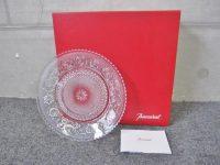 バカラ アラベスク クリスタル プレート皿