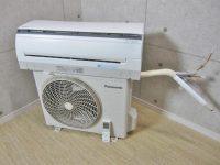 TJS0984パナソニック 5-9畳 ルームエアコン CS-GX224C-W 14年製