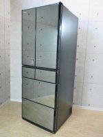 国分寺市にて日立製6ドア冷蔵庫(R-X5200E(X))2015年製を買取りました。