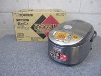 多摩市にて象印 IH炊飯器 極め炊き NP-VD18-TA 1升炊き 2016年製を買取しました。