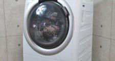 シャープ 7kg ドラム式洗濯乾燥機 ES-S70-WL 2015年製