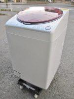 SHARP シャープ 8kg 全自動洗濯機 ES-TX840-R 15年製