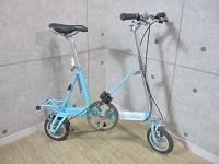 三浦市でルイガノ製の折りたたみ自転車[キャリーミー LGS-CM]を買取ました。