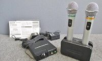 audio technica ワイヤレスマイクセット AT-CLM700T