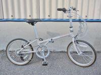 立川市にて DAHON ダホン Boardwalk D7 クロモリ 折りたたみ自転車 を買取致しました