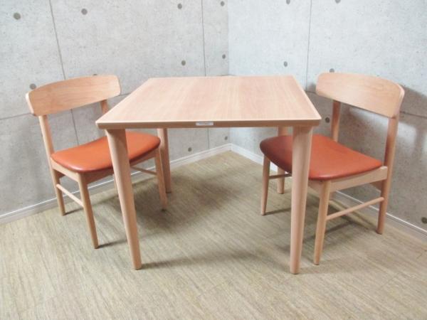 カリモク60+ ダイニング3点セット テーブル&チェア2脚