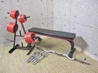 IROTEC アイロテック 55kg ダンベル+ベンチセット