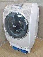 日立 風アイロン ドラム式洗濯乾燥機 BD-V3400L 2012年製