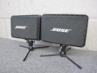 大田区にて【スピーカー BOSE 111AD ペア 連番 ヤマハ製スタンド付き】を出張買取致しました。