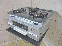 タカラスタンダード LPガス ビルトインコンロ T33V-60 16年製