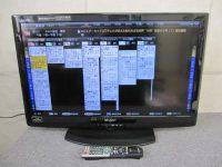 稲城市にてSHARP LED AQUOS 32型液晶テレビ LC-32V5 11年製 状態良を買取しました。