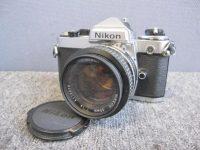 八王子市にてNikon ニコン FE ボディ NIKKOR 50mm f1.4mm レンズを買取しました。