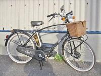 大和店頭 イタルジェット CLASS モペット 自転車バイク