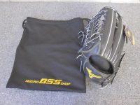 世田谷区にて未使用 ミズノプロ 硬式外野手用グローブ 左投 1AJGH140170 を買取いたしました。