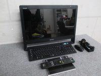 八王子店にてSONY ソニー PCG-11211N Windows7 Core i5 M480 2.67GHz 4GB 1TB 動作品 一体型PCを買取致しました。