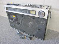 府中市にてSONY ソニー CF-1990 ラジカセ カセットデッキ 電源入らずジャンク レトロを買取しました。
