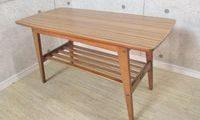カリモク60 カフェテーブル(小) ウォールナットカラー