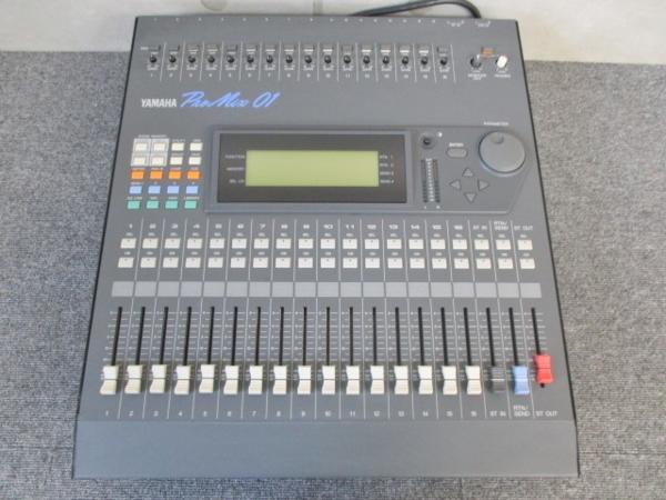 調布市にてYAMAHA製デジタルミキサー ProMix01を買取いたしました。