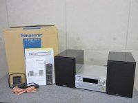 八王子市にてPanasonic パナソニック ハイレゾ対応 CDステレオシステム SC-PMX100-S 2015年製を買取しました。
