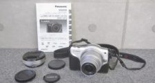 Panasonic LUMIX DMC-GF3 ホワイト G VARIO 12-32mm f3.5-5.6 レンズ付き
