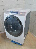Panasonic 即効泡洗浄 10kg ドラム式洗濯乾燥機 NA-VX7500L 2014年製