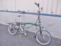 武蔵野市にて BROMPTON ブロンプトン M3R ミニベロ 折り畳み自転車 16インチ を買取致しました