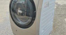 日立 風アイロン 9kg ドラム式洗濯乾燥機 BD-S7500L 2013年製