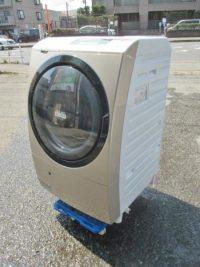 中野区にて日立 風アイロン 9kg ドラム式洗濯乾燥機 BD-S7500L 2013年製を買取いたしました。