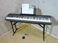 CASIO カシオ Privia 88鍵盤 電子ピアノ PX-130BK スタンド付き