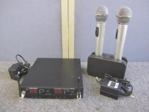 オーディオテクニカ ワイヤレスマイクセット ATW-T62a ATW-R75a BC700 動作確認済み