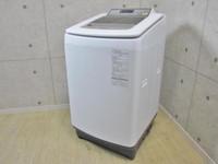 Panasonic エコナビ 即効泡洗浄 10kg 全自動洗濯機 NA-FA100H2 2015年製
