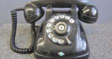 日本電信電話公社 黒電話 4号A