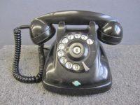 世田谷区にて日本電信電話公社 黒電話 4号A 断線あり 現状品を買取いたしました。