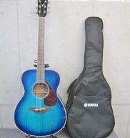 YAMAHA ヤマハ アコースティックギター FS720S コバルトアクア ソフトケース付