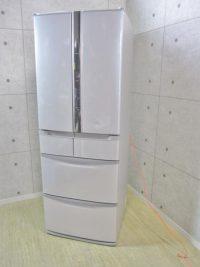 世田谷区にて日立 スリープ保存 真空チルド 441L 6ドア冷凍冷蔵庫 R-SF440CM 2013年製を買取いたしました。