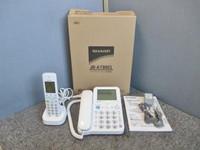 SHARP シャープ デジタルコードレス電話機 子機1台付き JD-AT80CL