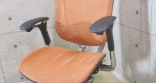 オカムラ コンテッサチェア ヘッドレストタイプ CM31AB オレンジ