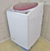 SHARP プラズマクラスター 8kg 全自動洗濯乾燥機 ES-TX840-R 2015年製