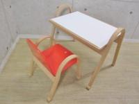 東大和市にて 日進木工 キッズテーブル&チェア N-KIDS アクタス を買取致しました