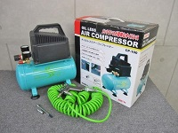 小平市にて ナカトミ オイルレスエアーコンプレッサー CP-100 を店頭買取致しました