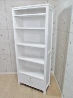 杉並区にて モモナチュラル MOMO NATURAL 本棚 ブックシェルフ 収納棚【状態良好】を出張買取致しました